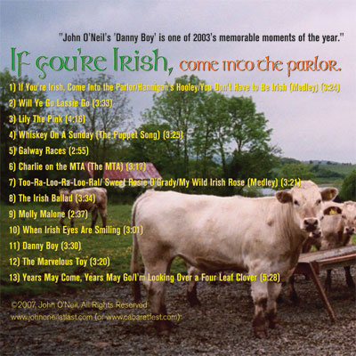 If You're Irish, Come into the Parlor